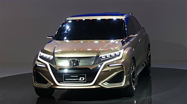 Honda Concept D /Jacek Jurecki /INTERIA.PL