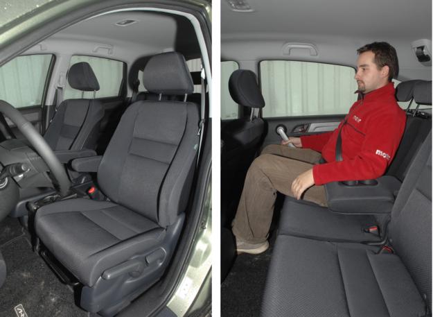 Honda CR-V fotele /Motor