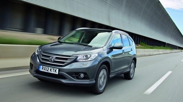 Honda CR-V jest produkowana w brytyjskiej fabryce w Swindon. /Honda