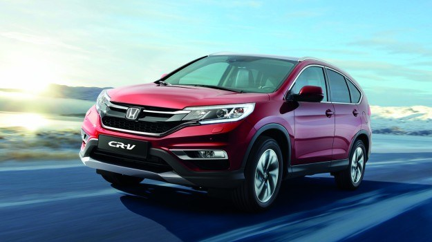 Honda CR-V po liftingu (2015) /Honda