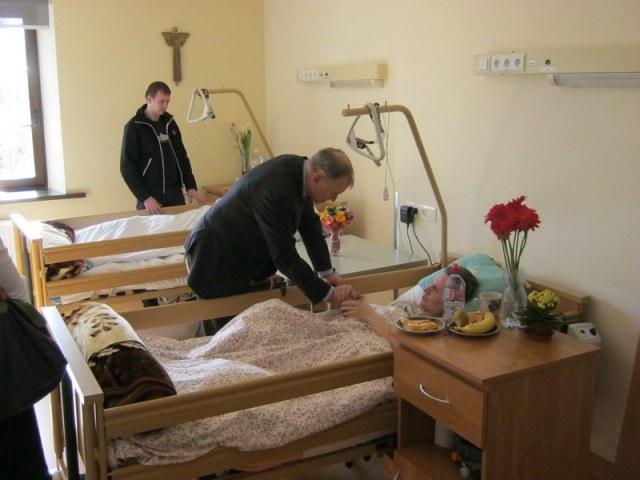 Hospicjum działa od pięciu lat w Wilnie /Hospicjum bł. ks. Michała Sopoćki  /