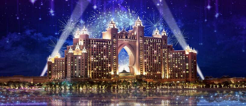 Hotel Atlantis Palm - promocyjne zdjęcie z imprezy noworocznej /materiały prasowe