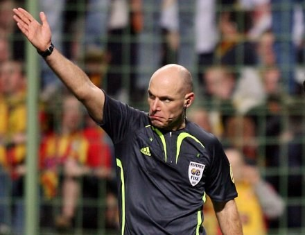 Howard Webb /AFP