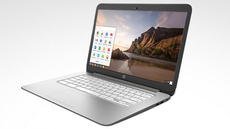 HP Chromebook 14 z dotykowym ekranem /materiały prasowe