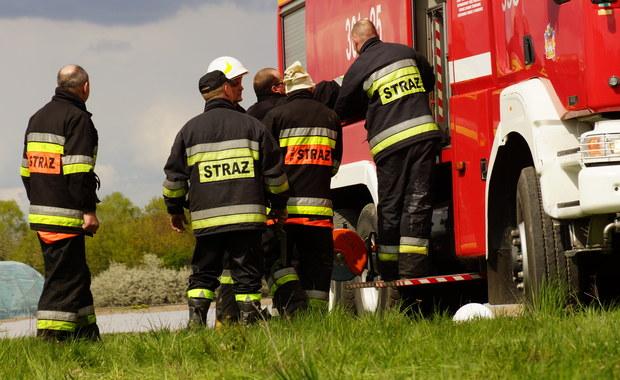 Hrebenne: Po wycieku z cysterny wstrzymano odprawy ciężarówek