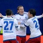 HSV Hamburg - Borussia Moenchengladbach 3-2. Bramka Rudnevsa