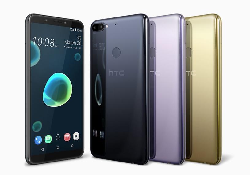 HTC Desire 12+ /materiały prasowe