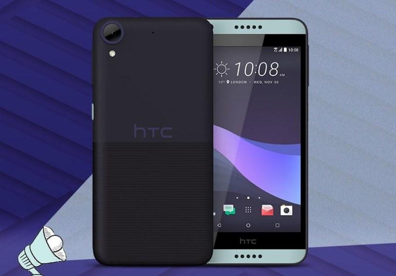 HTC Desire 650 z przodu wygląda jak model 620 /materiały prasowe