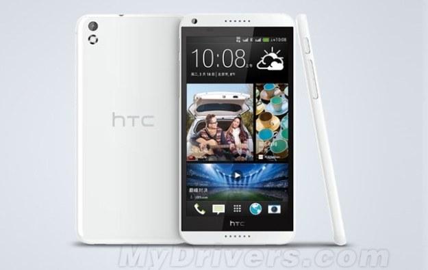 HTC Desire 8.   Fot. MyDrivers.com /materiały prasowe