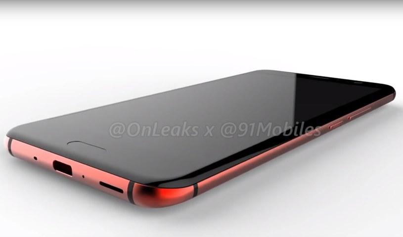 HTC U 11 będzie maił zagięte krawędzie ekranu /OnLeaks /Internet