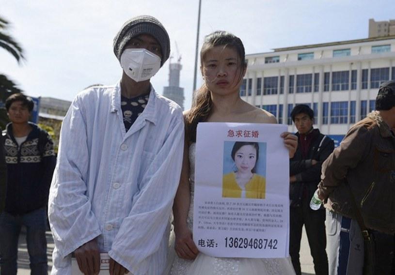 Huang Xijun i jej chory brat /Agencja SE/East News