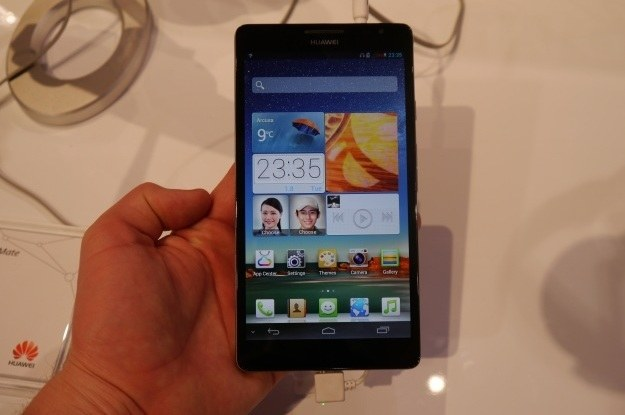Huawei Ascend Mate ma ekran o przekątnej 6,1 cala /INTERIA.PL