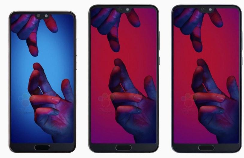 Huawei P20 będzie dostępny w sumie w pięciu wersjach /Roland Quandt /Twitter