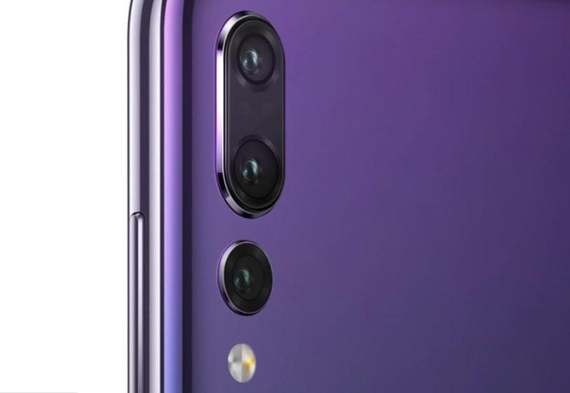 Huawei P20 Pro to model wyposażony w potrójny aparat /Huawei /materiały prasowe