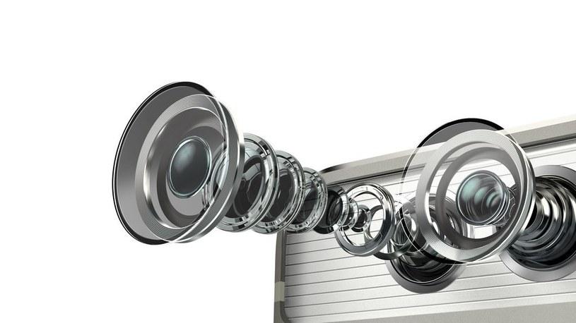 Huawei P9 i dwa obiektywy /materiały prasowe