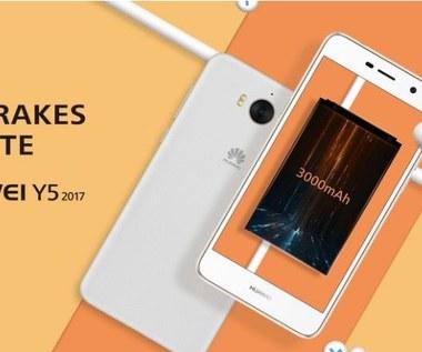 Huawei Y5 2017 oficjalnie przedstawiony