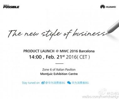 Huawei zaprezentuje tablet z klawiaturą i rysikiem?