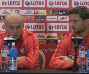 Hubert Małowiejski, Bartosz Bereszyński i Michał Pazdan przed meczem z Czarnogórą (wideo)