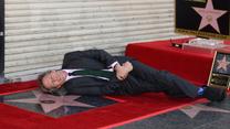 Hugh Laurie odsłonił gwiazdę w Alei Sław w Hollywood