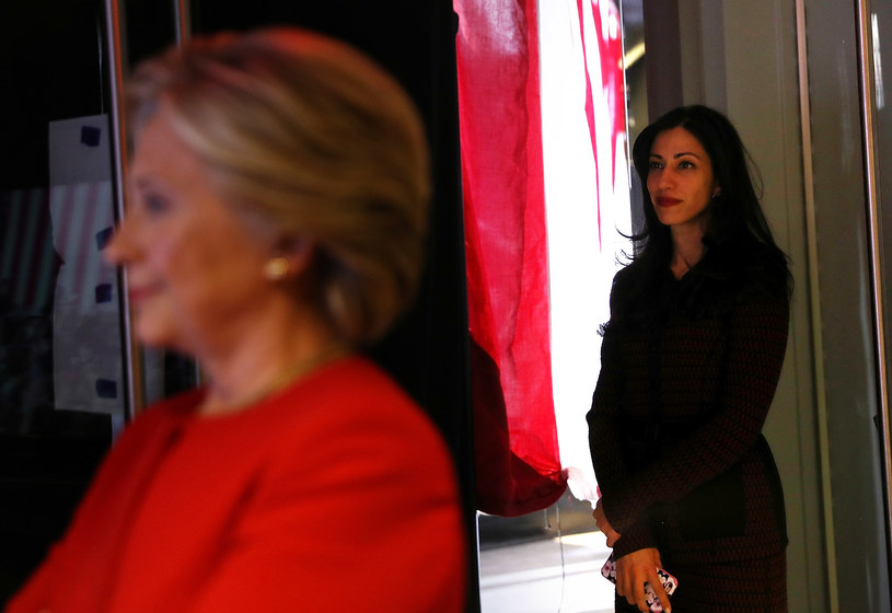 Huma Abedin: Zawsze przy Hillary Clinton, zawsze w cieniu /AFP