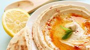 Hummus z jagnięciną