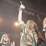 Hunter ze Złotym Bączkiem w 2004 roku /