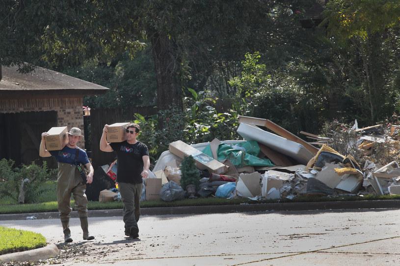 Huragan Harvey to jedna z najpoważniejszych klęsk żywiołowych w ostatnim czasie /AFP