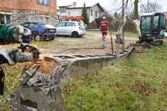 Huragan łamie drzewa i konary. Skutki wichury na Pomorzu