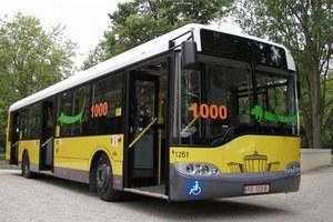 Hybrydowy autobus w Poznaniu