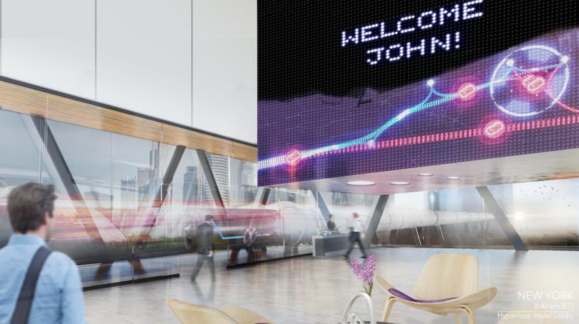 Hyperloop Hotel /materiały prasowe