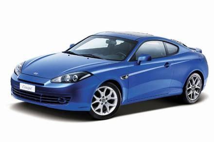 Hyundai coupe / Kliknij /INTERIA.PL