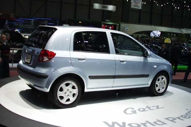 Hyundai Getz w Genewie (kliknij) /INTERIA.PL