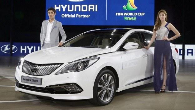 Hyundai Grandeur po liftingu /Hyundai