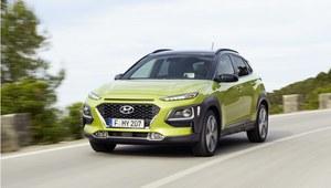 Hyundai Kona - zupełnie nowy, miejski SUV o nietypowej stylistyce