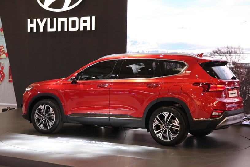 Hyundai santa fe i elektryczna kona na pozna motor show for Premier motors santa fe