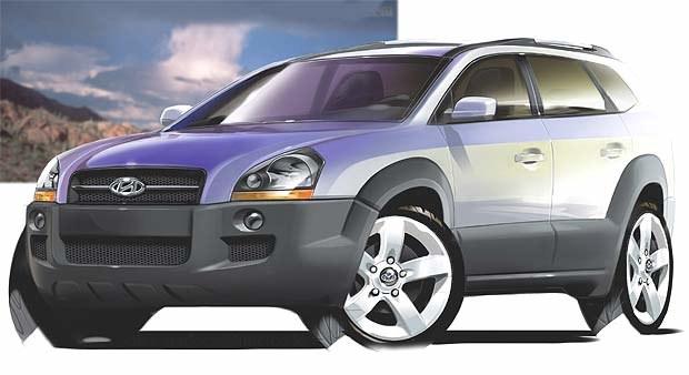 Hyundai Tucson (kliknij) /INTERIA.PL
