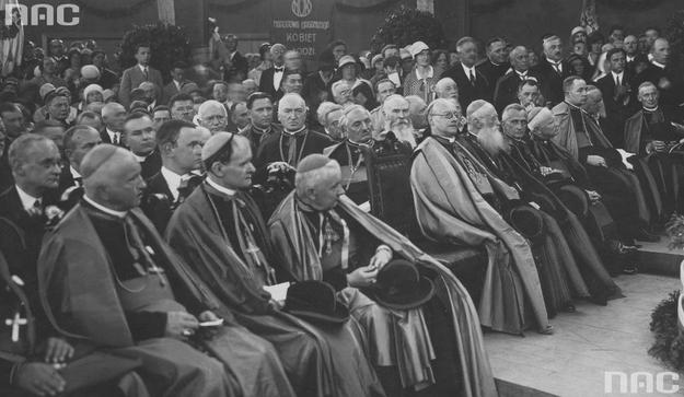 I Krajowy Kongres Eucharystyczny w Poznaniu /Z archiwum Narodowego Archiwum Cyfrowego