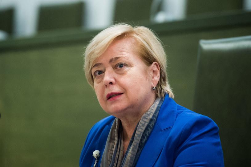 I prezes SN Małgorzata Gersdorf /Jacek Domiński /Reporter