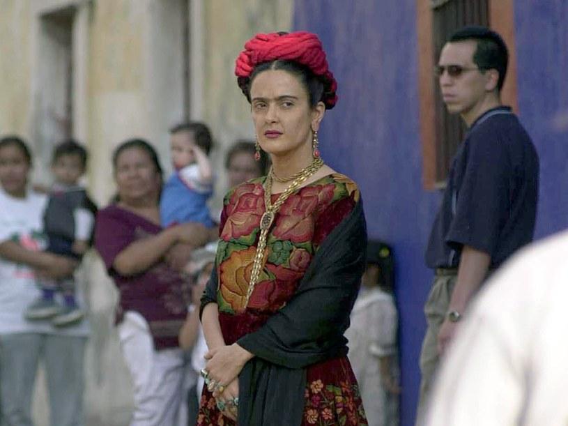 ....i Salma Hayek jako Frida Kahlo  /Getty Images/Flash Press Media