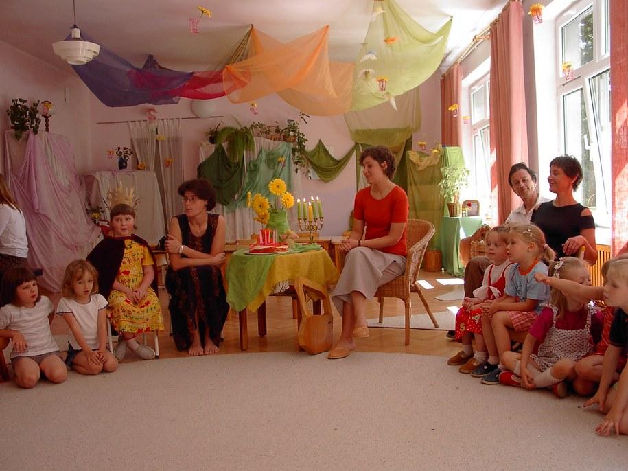 I Społeczne Przedszkole musi wyprowadzić się z budynku żłobka do końca sierpnia 2013 roku /Anna Kropaczek /RMF FM