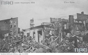 I wojna światowa na ziemiach polskich