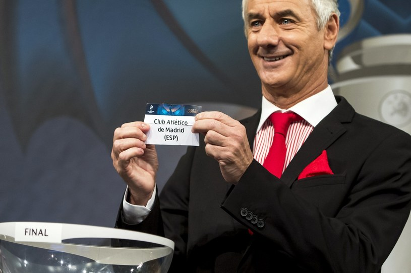 Ian Rush po rozlosowaniu Atletico Madryt /PAP/EPA