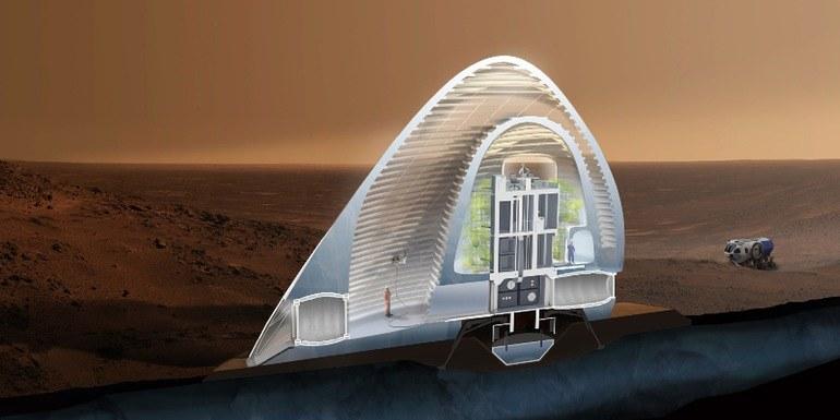 Ice House /NASA