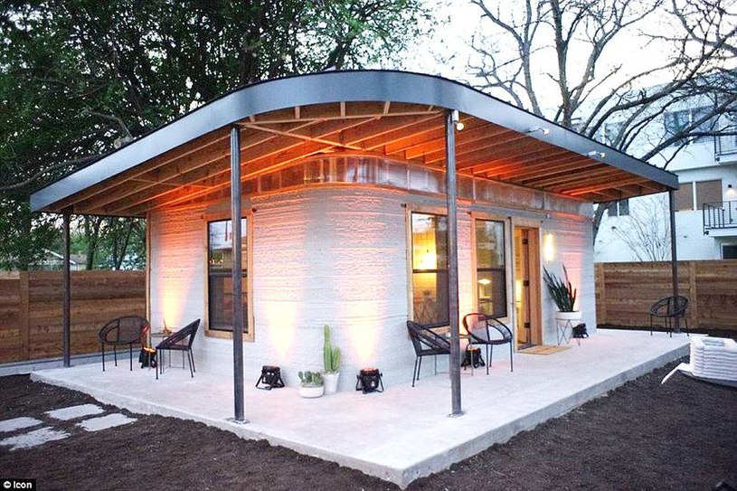 ICON chce budować domy z drukarki 3D za 14 000 zł /materiały promocyjne