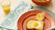 Idealne jajko sadzone w chlebie