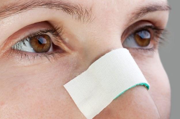 Idealnie prosta przegroda nosowa to rzadkość /123/RF PICSEL