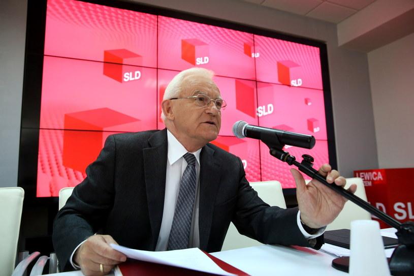 ider SLD Leszek Miller, przed posiedzeniem Rady Krajowej /Tomasz Gzel /PAP