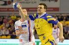 IFK Kristianstad - Vive Tauron Kielce 35:35 w Lidze Mistrzów