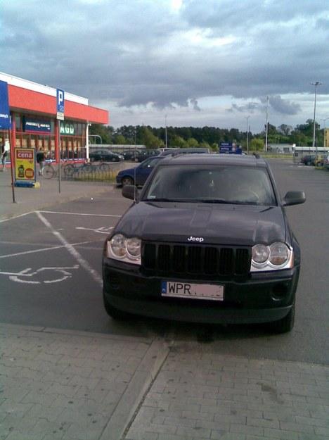 Ignorant w jeepie