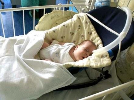 Igor jest wcześniakiem - urodził się sześć tygodni przed terminem/fot. Wojciech Obremski /Lca.pl